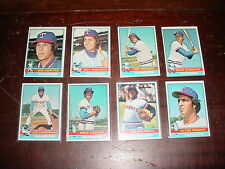 Texas Rangers 1976 Topps Baseball 29 cards Gaylord Perry Jeff Burroughs