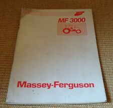 Massey Ferguson Tractor Manuals & Publications Nice Mf 788 Combine Operators Instruction Book