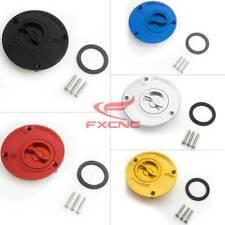 Fuel Gas Cap Cover Black Fit Honda CBR1000RR 04-2012 07 CBR600RR 2003-2006