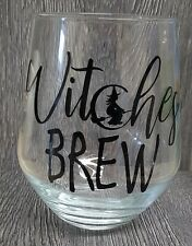 Witches Brew Wine/Juice/Whisky Glass Tumbler