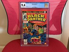 Black Panther #1 CGC 9.4 White Pages