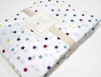 Pottery Barn Kids Multi Colors Cotton Mini Stars Full Queen Duvet Cover New