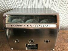 Collector - Ancienne serrure horaire SARGENT & GREENLEAF