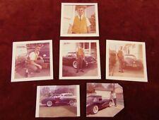 1958 CORVETTE Vintage Photos 1960s DOWNEY CA 16th Birthday Present