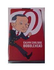 2015 Washington Nationals CALVIN COOLIDGE Bobblehead Bobble Head SGA President