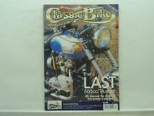April 2001 Classic Bike Magazine BMW BSA Bultaco Honda Norton Yamaha Guzzi B469