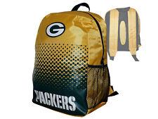 Green Bay Packers Fan Rucksack gelb NFL Backpack Tasche Schultasche 45x35x15cm