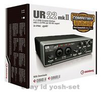 Steinberg 2x2 USB 2.0 audio interface UR22mkII New From Japan F/S