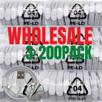 Wholesale Lot 3/6Ft OEM USB Fast Charger Cable For iPhone 12 11 XR 8 7 Data Cord