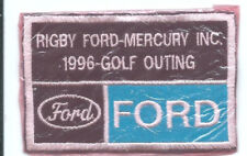 Rigby Ford Mercury Inc golf outing Ford patch 2-1/2 X 4 #2106