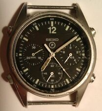 Seiko Gen-1 1989 British Military RAF Pilots Chronograph Watch 7A28 - Project