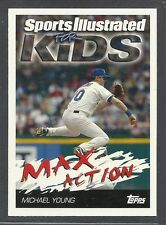 2006 Topps Sports Illustrated for Kids - #3 - Michael Young - Texas Rangers
