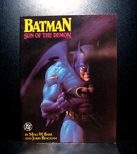 COMICS: Batman: Son of the Demon GN (1987, 1st Print), 1st baby Damian Wayne app
