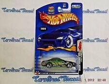 "2003 Hot Wheels #69 Dragon Wagons (black) ""LEXUS SC400"" w/Razor Wheels ~ B6"