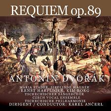 CD Requiem op.89 von Antonin Dvorak 2CDs Komplett Aufnahme, Maria Stader