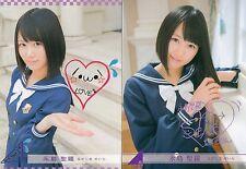 JAPANESE IDOL Seira Nagashima 2 BASE CARDS LOT 2013 Nogizaka46
