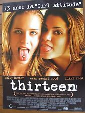 AFFICHE - THIRTEEN HOLLY HUNTER NIKKI REED CATHERINE HARDWICKE