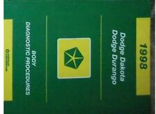 1998 Dodge DAKOTA TRUCK & DURANGO SUV Body Diagnostic Procedures Shop Manual