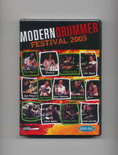 MODERN DRUMMER FESTIVAL 2005 *NEW* 3 DVD SET DRUM DRUMS