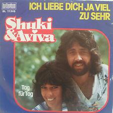 """7"""" 1976! SHUKI & AVIVA : Ich liebe Dich ja viel zu sehr"""