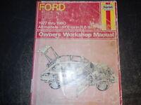 1977 78 79 80 HAYNES FORD FIESTA OWNER'S WORKSHOP MANUAL