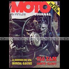 MOTO JOURNAL N°131 KTM 175 ENDURO, 24 HEURES DE SPA, DIRT TRACK CASTLE ROCK 1973