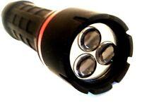 LED  Flashlight Bright Torch Light Rubber Body Lantern Ultra Bright Lights New