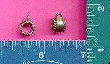 20 wholesale lead free pewter bead loop charms bd106