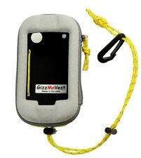 Garmin Montana 680, 650, 610, 600 CASE Made in the USA GizzMoVest. Marine Grey
