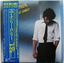 J.D. SOUTHER You're Only Lonely 1979 JAPAN ORG LP Eagles MINTY! + Press Release