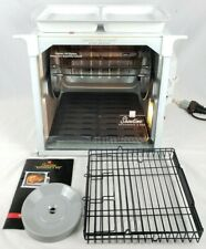 Ronco Showtime 4000 Full Size Rotisserie & BBQ Oven (White) + Accessories Clean