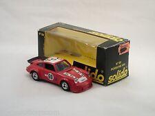 """Solido 68 Porsche 934 Le Mans 1978  """"VSD""""  avec boîte  (#A15)"""