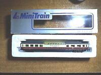 MINITRAIN- LIMA 320838 VINTAGE CARROZZA 1a PANORAMICA RHEINGOLD DB BOX SCALA-N