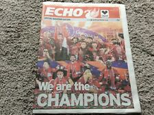 LFC Liverpool FC We Are The Champions 19/20 Liverpool Echo Souvenir Edition YNWA