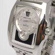 Breitling for Bentley Flying B Herren Uhr Box und Papiere Automatik Edelstahl