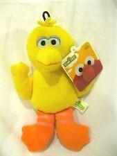 "Sesame Street Yellow 8"" All Fabric Big Bird Plush Doll Soft Stuffed Toy Figure"