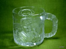 Mcdonalds BATMAN FOREVER Glass Mug Cup Two-Face 1995