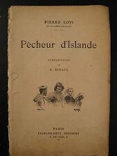 Pêcheur d'Islande - Pierre Loti - 1931