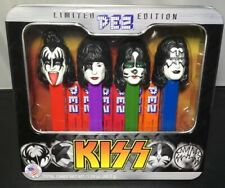 KISS PEZ Limited Edition Pez Set 2013 Gene Simmons Paul Stanley Starchild Candy