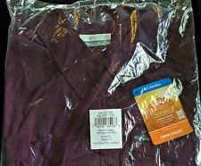NEW COLUMBIA PFG Women's Silver Ridge 2.0 LS Shirt XL 16-18 Black Cherry Top NWT