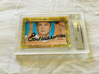 Earl Weaver 2018 Leaf Masterpiece Cut Signature autographed signed card 1/1 JSA