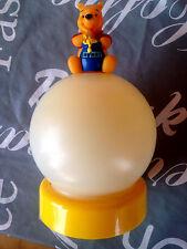 + LUCE NOTTURNA WINNIE THE POOH SPEGNIMENTO PRESSIONE LAMPADA TORCIA BATTERIA