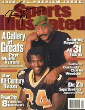 RICKY WILLIAMS SIGNED  SPORTS ILLUSTRATED W/ JIM BROWN RICKY COA