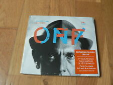 Christian Olivier : ON / OFF - Têtes Raides -  CD Fontana 2016 NEW