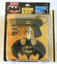 Rare 1990 Batman Batarang Blaster Action Toy Dark Knight Collection by Kenner