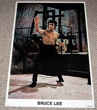 BRUCE LEE Nunchucks Enter The Dragon Poster 1975 Magic Print Martial Arts Gym