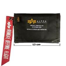 Alpha Industries - Crew Wallet 196928 - Nylon Purse New spaces for credit cards
