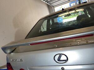 01-05 Lexus IS300 OEM High Spoiler & 3rd Brake Used