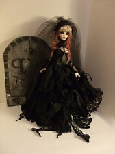 EVANGELINE GHASTLY GOTHIC ZOMBIE ROMANTIC TATTERED DRESS GOWN OUTFIT FASHION