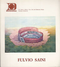ARTE GIANNATTASIO BONAVITA FULVIO SAINI 1976 EDIZIONI DIMENSIONE